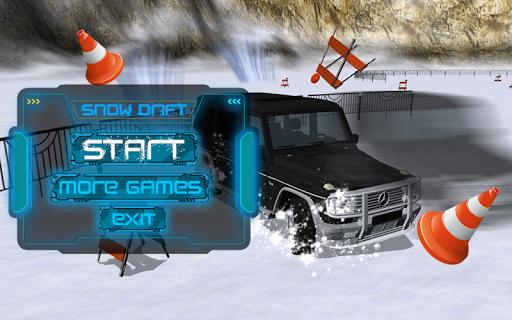 Snow Drift Car GELIK Mercedes
