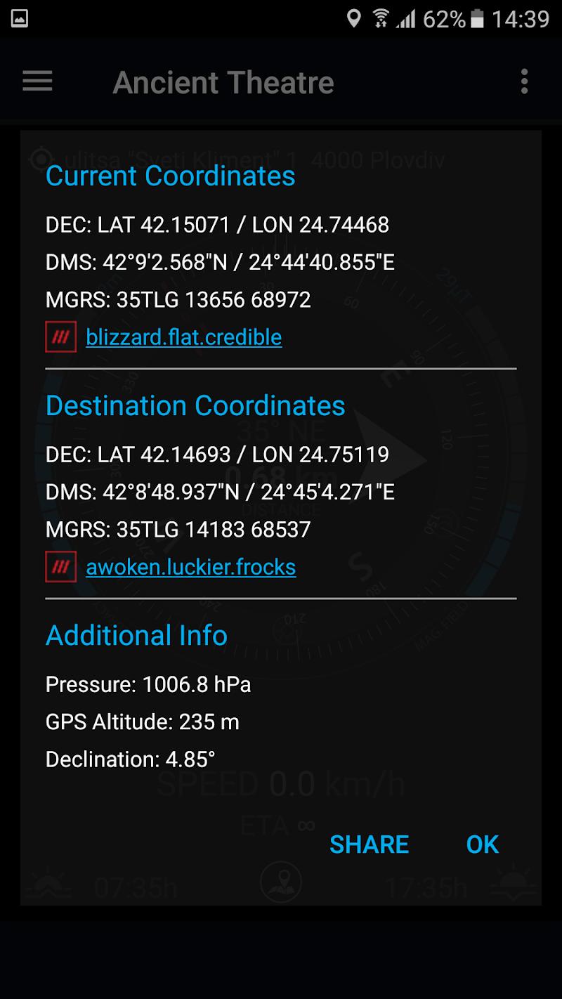 GPS Compass Navigator Screenshot 8