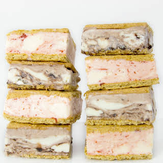Graham Cracker Ice Cream Sandwiches.