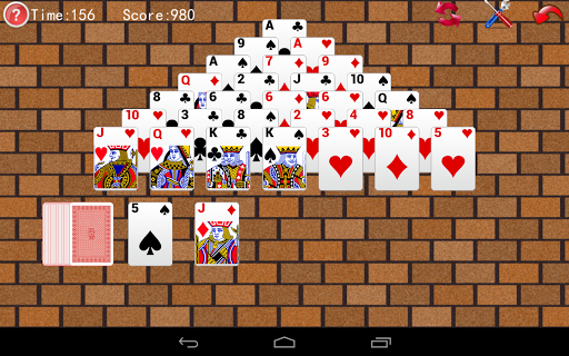 Pyramid Solitaire screenshots 2