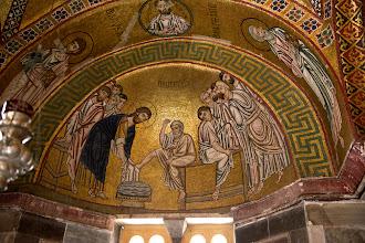 Photo: Нартекс, Христос омывает ноги ученикам; фото Сергея Шахова