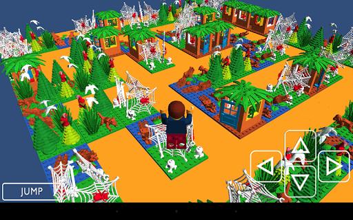 ジャングル迷路 3D
