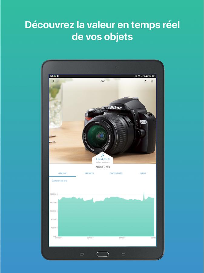 Cbien prot ger estimer vendre vos objets applications android sur google play - Vendre des objets sur internet ...