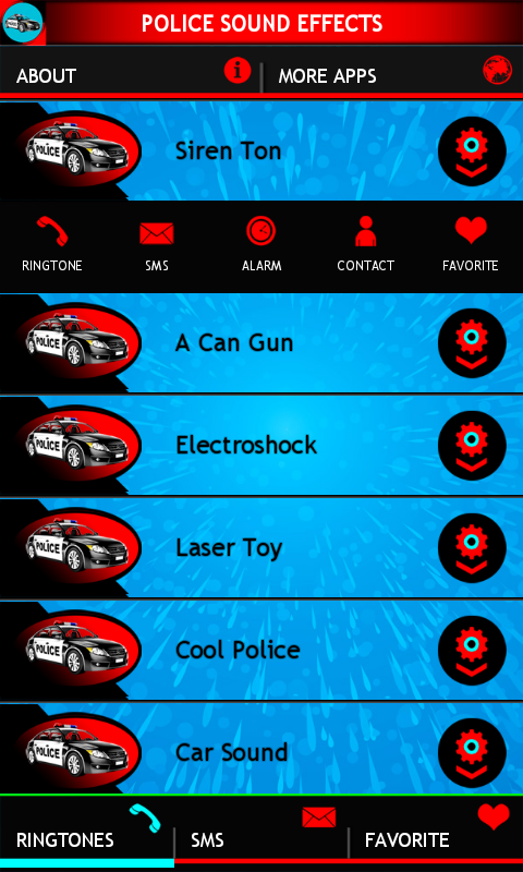 Police Sound Effects- screenshot