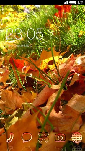 Autumn Grass CLauncher Theme
