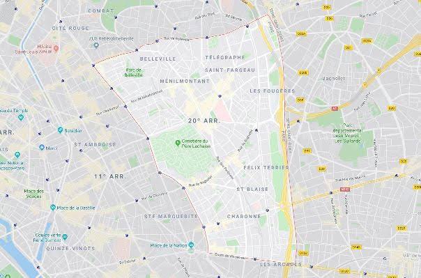 20º arrondissement de Ménilmontant