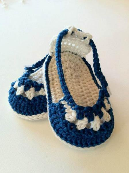 DIY Crochet Baby Slippers- screenshot