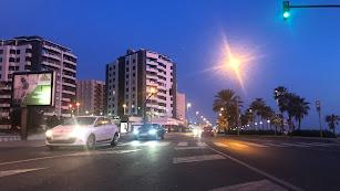 Imagen de la Avenida de Cabo de Gata.