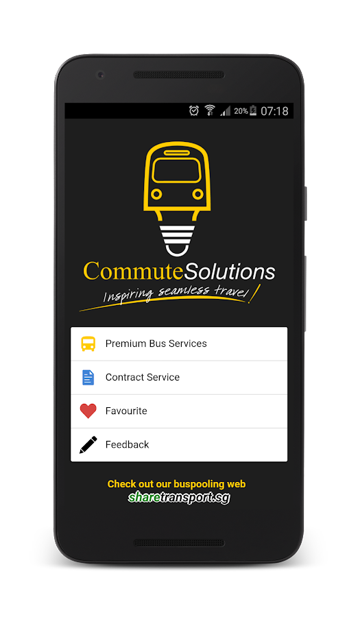 Commute Solutions- screenshot