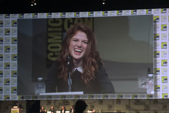 Photo: Friday - Game of Thrones panel; star Rose Leslie (aka Gwen from Downton)
