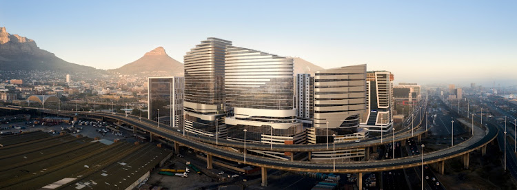 A rendering of the planned Harbour Arch mixed-used precinct in Cape Town. Picture: SUPPLIED