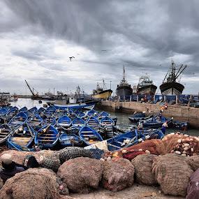 Essauira by Jani Novak - Uncategorized All Uncategorized ( boats, landscape, morocco, essauira, fishman )