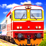 Indian Train Simulator Free Games Icon