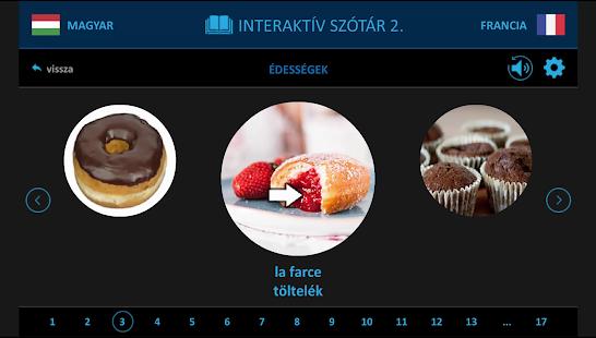 Francia 2. interaktív szótár - náhled