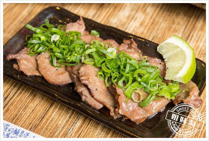 森本日式和風洋食堂蔥燒牛舌定食