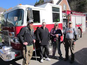 Photo: Bart, Mayor Ellison, Jo, Tim