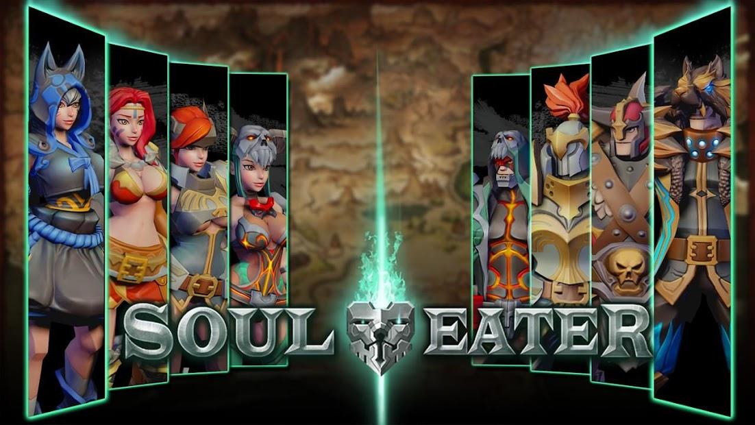 SoulEater: 소울이터 내려찍고 띄우고 다운공격까지 자유자재로 즐기는 궁극의 격투액션