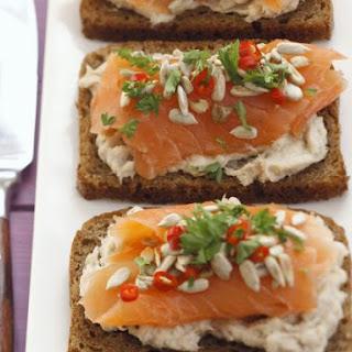 Salmon on Wholegrain Bread