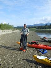 Photo: die Ufer waren sumpfig. Deshalb gab es hier eine ordentliche Mückenpopulation