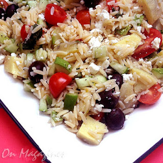 Orzo Salad from Southern Lady/Simply Southern Magazine, 2012