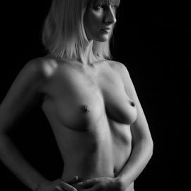 classic nudeart by Reto Heiz - Nudes & Boudoir Artistic Nude ( studio, nude, nudeart, female nude, lowkey )