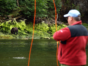 Photo: Fly Fishing With Brown Bears