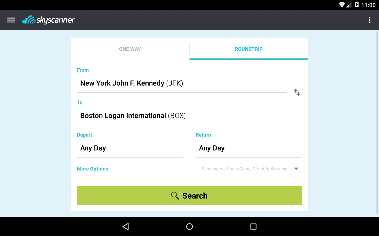 Skyscanner - All Flights!- screenshot