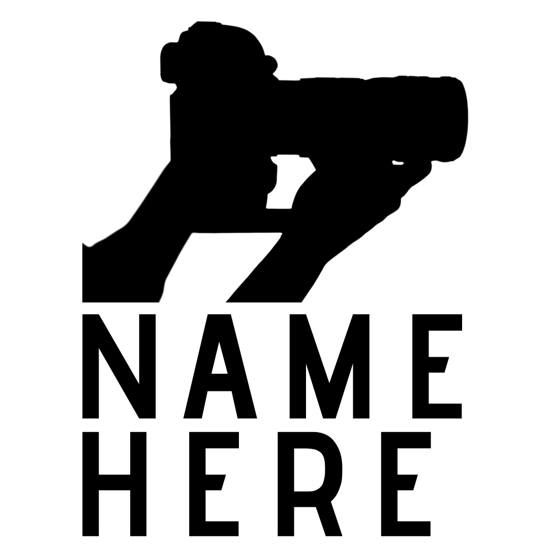 photography logo holding camera