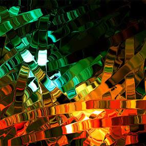 by Tatiana Syunyaeva - Abstract Fine Art ( abstract, green, art, fine art )