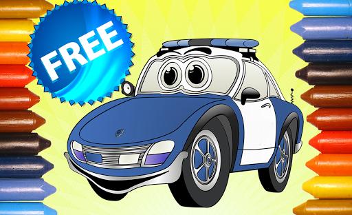 無料解谜Appの塗り絵車|記事Game