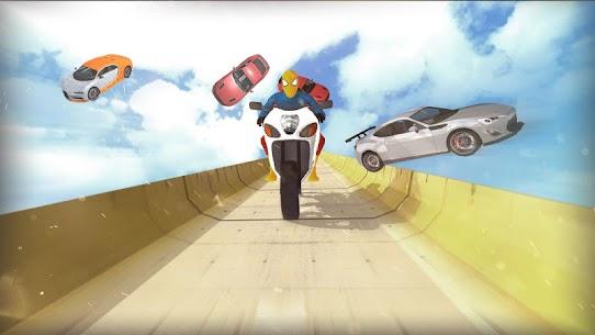 Super Hero Bike Mega Ramp 2 5
