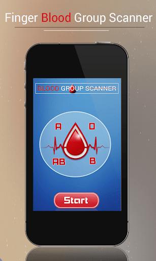 Blood Group Scanner Prank