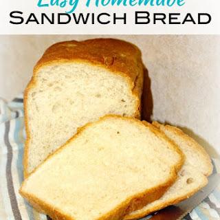 Easy Homemade Sandwich Bread