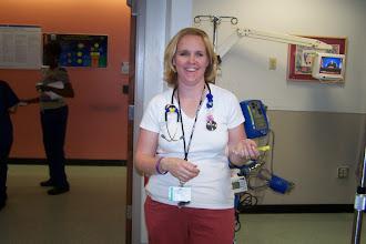 Photo: One of the wonderful nurses at CHOP