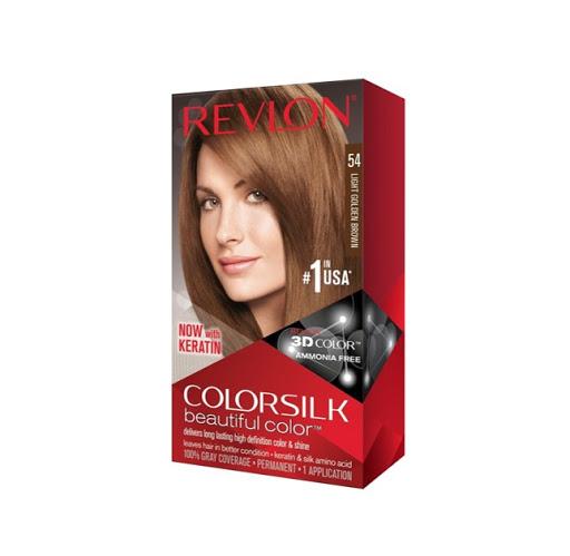 Tinte Revlon Color Silk Castano Dorado Claro 54