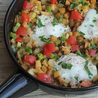 """Tastes Like Pizza"" Breakfast Hash"