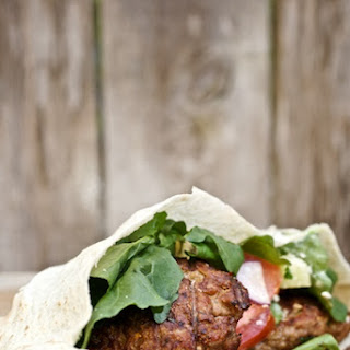 Grilled Lamb Burgers with Cucumber Tzaziki