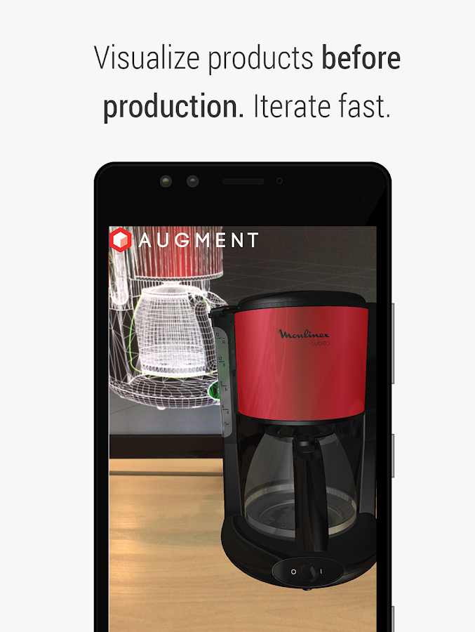 Augment - 3D Augmented Reality- screenshot