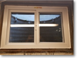 Vinyl Replacement Basement Windows