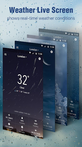 Storm Clock & Weather Widget for PC