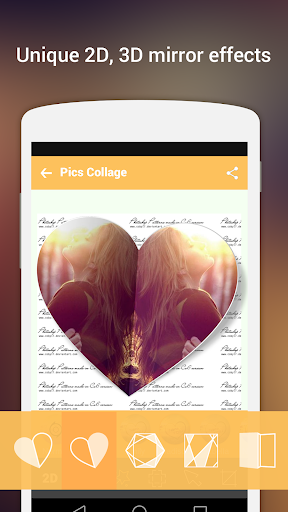Pics Collage -Photo Grid Maker Screenshot