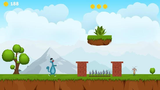 Oggy Run Kids Game - náhled