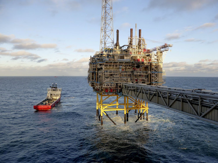 Oil and gas company Statoil gas processing and carbon dioxide removal platform Sleipner T offshore near the Stavanger, Norway. Picture: REUTERS/NERIJUS ADOMAITIS/FILE PHOTO