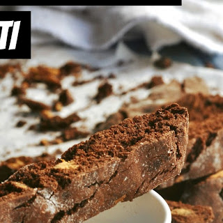 Chocolate Peanut Butter Chip Biscotti