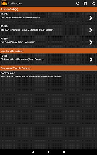 EOBD Facile - OBD 2 Car Diagnostic for elm327 Wifi  screenshots 8
