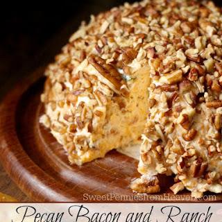 Pecan Bacon Ranch Cheeseball