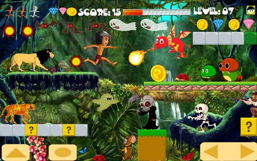 Scary Maze Run in Jungle