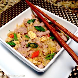 Pork Fried Cauliflower Rice – Keto and Low Carb Recipe