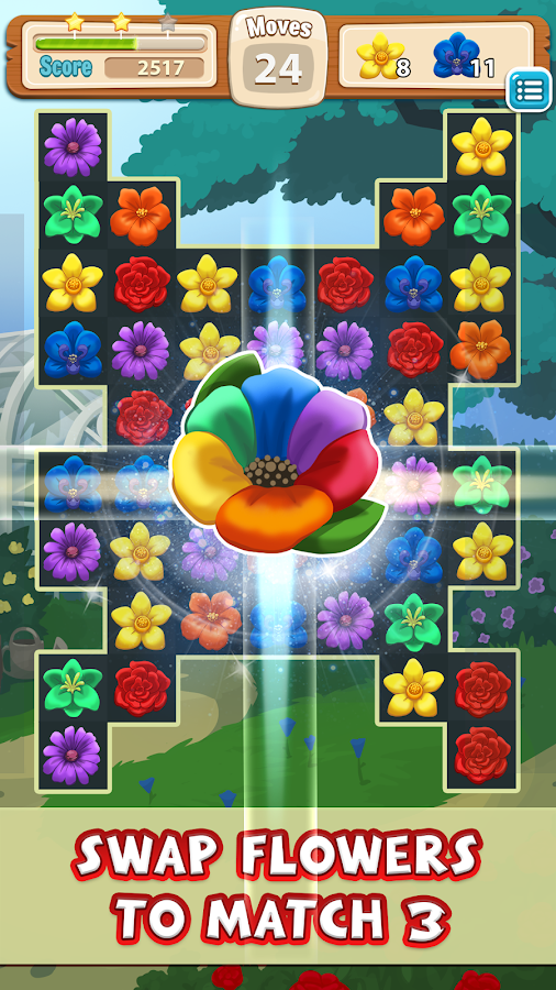 Blossom Blitz Match 3- screenshot