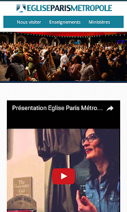 Eglise Paris Métropole- screenshot thumbnail